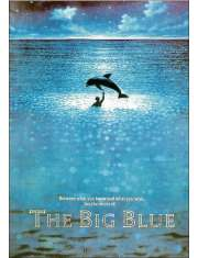 Wielki Błękit Luc Besson - plakat