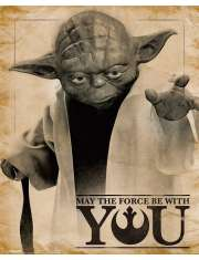 Gwiezdne Wojny Yoda - plakat