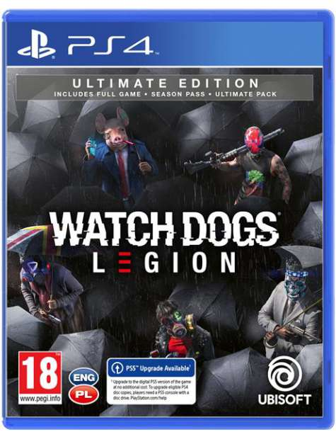 Watch Dogs Legion Ultimate Edition PS4-51661
