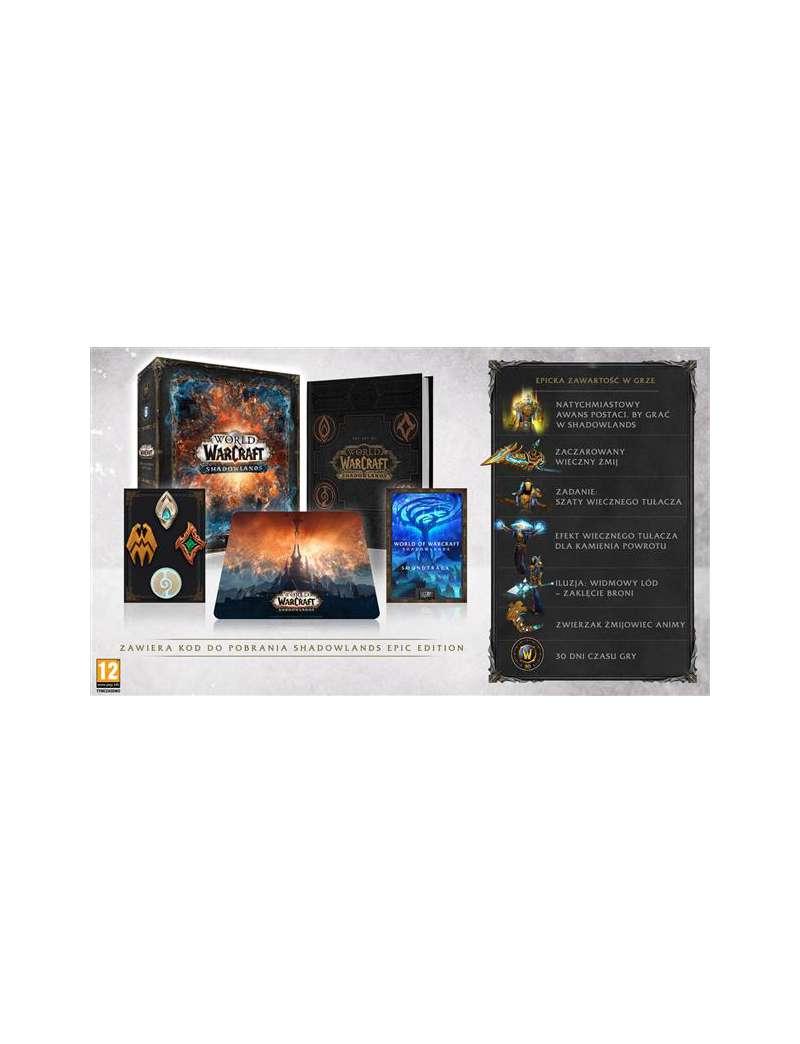 World of Warcraft Shadowlands Edycja Kolekcjonerska