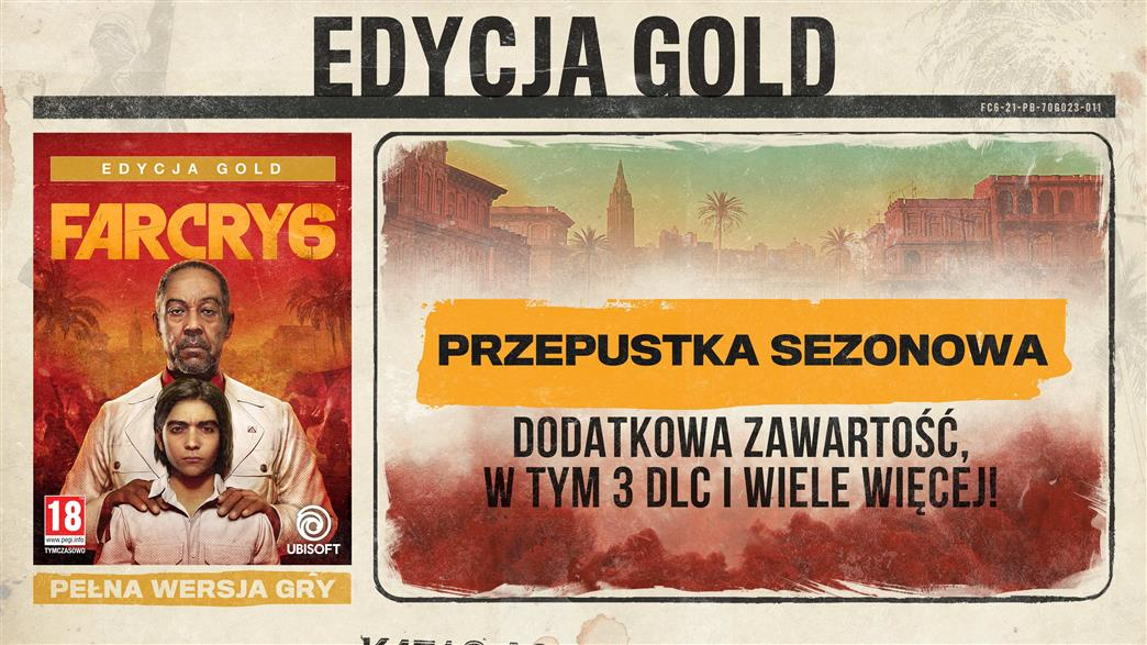 FAR CRY 6 Bonus Premierowy