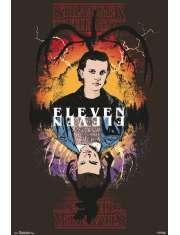 Stranger Things Eleven - plakat