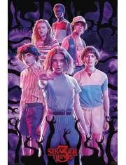 Stranger Things 3 Bohaterowie - plakat