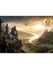 Assassins Creed Valhalla Vista - plakat