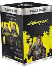 Puzzle Cyberpunk 2077: Keyart Male V-52326