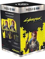 Puzzle Cyberpunk 2077: Keyart Female V-52330