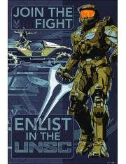 Halo Infinite Join the Fight - plakat