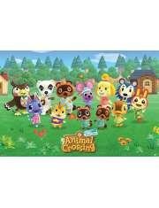 Animal Crossing Bohaterowie - plakat