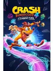 Crash Bandicoot 4 Ride Its About Time - plakat
