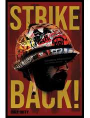 Call of Duty Black Ops Cold War Strike Back - plakat