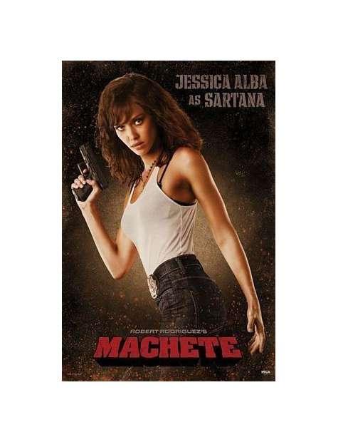 Machete Jessica Alba - plakat