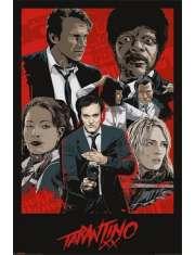 Quentin Tarantino XX Kultowe Filmy - plakat