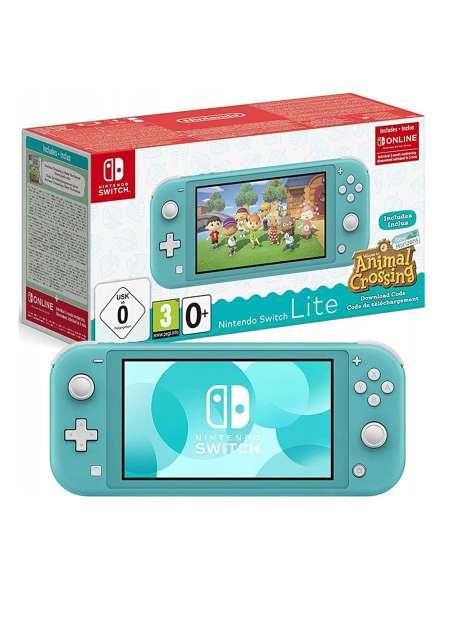 Nintendo Switch Lite Turquoise Animal Crossing-52751