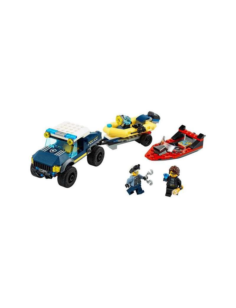 Lego City 60272 Transport łodzi policji specjalnej