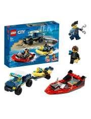 Lego City 60272 Transport Łodzi Policji Specjalnej-53241