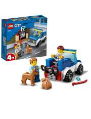 Klocki Lego City 60241 Oddział Policyjny z Psem-53366