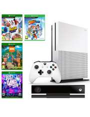 Xbox One S 1TB Kinect jd16 disney rush rabbid Pad-36212
