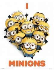 Minionki Rozrabiają - Kocham Minionki - plakat