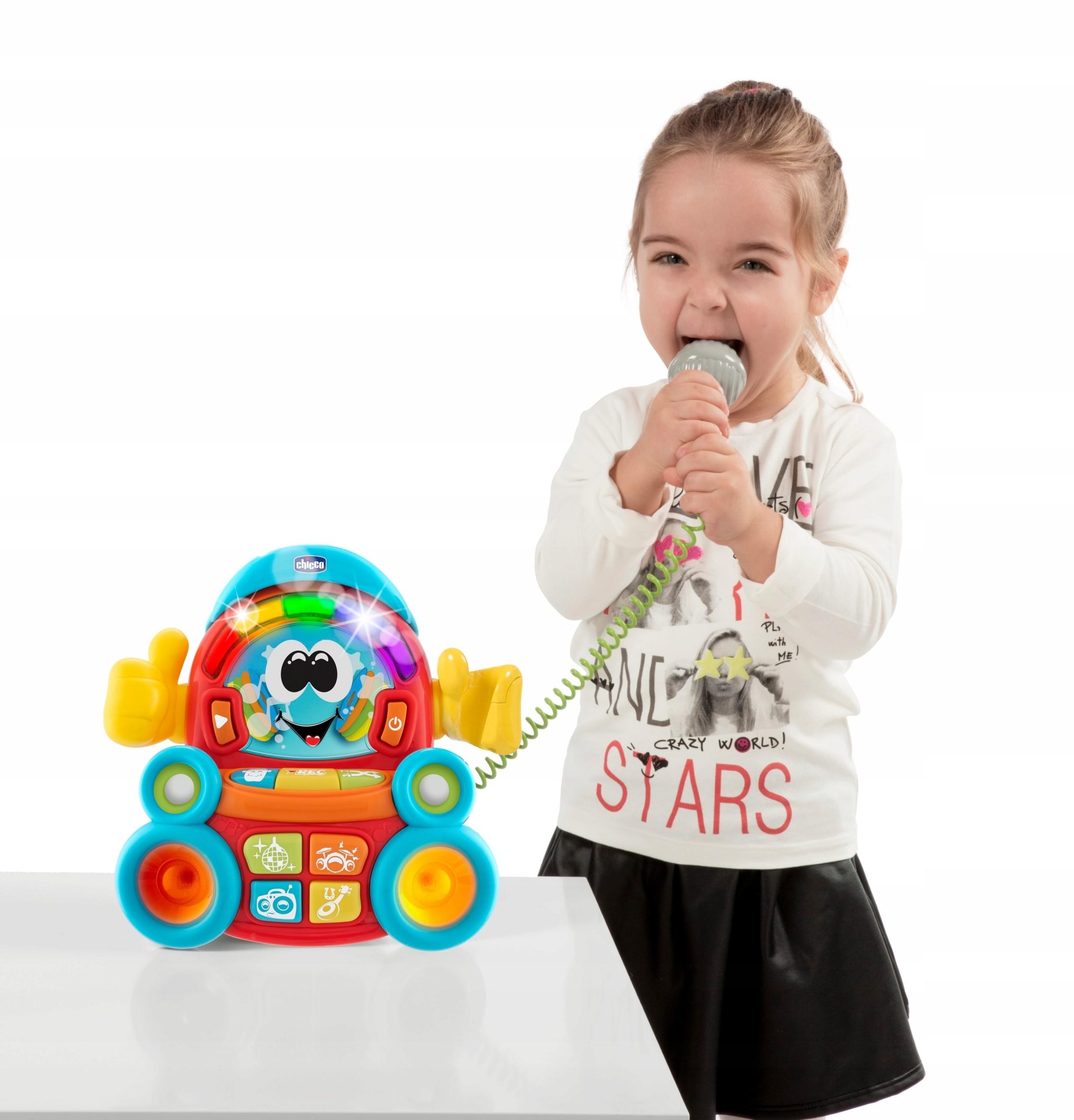 Zabawka interaktywna Chicco Songy Karaoke