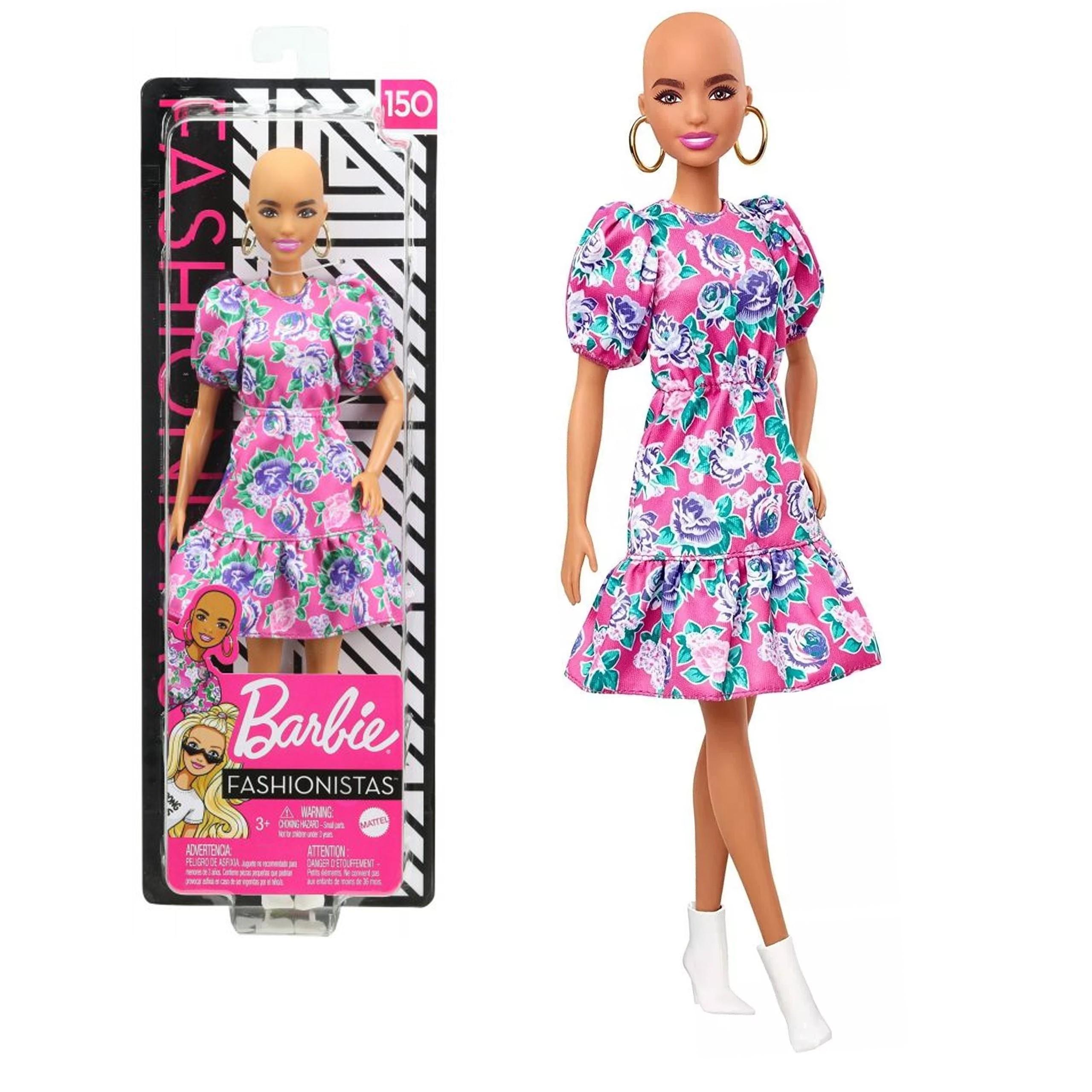Lalka Barbie Fashionistas GHW64