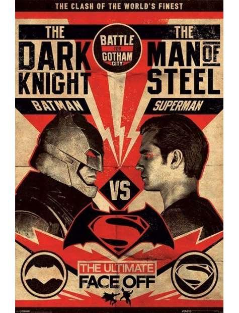 Batman v Superman Starcie - plakat