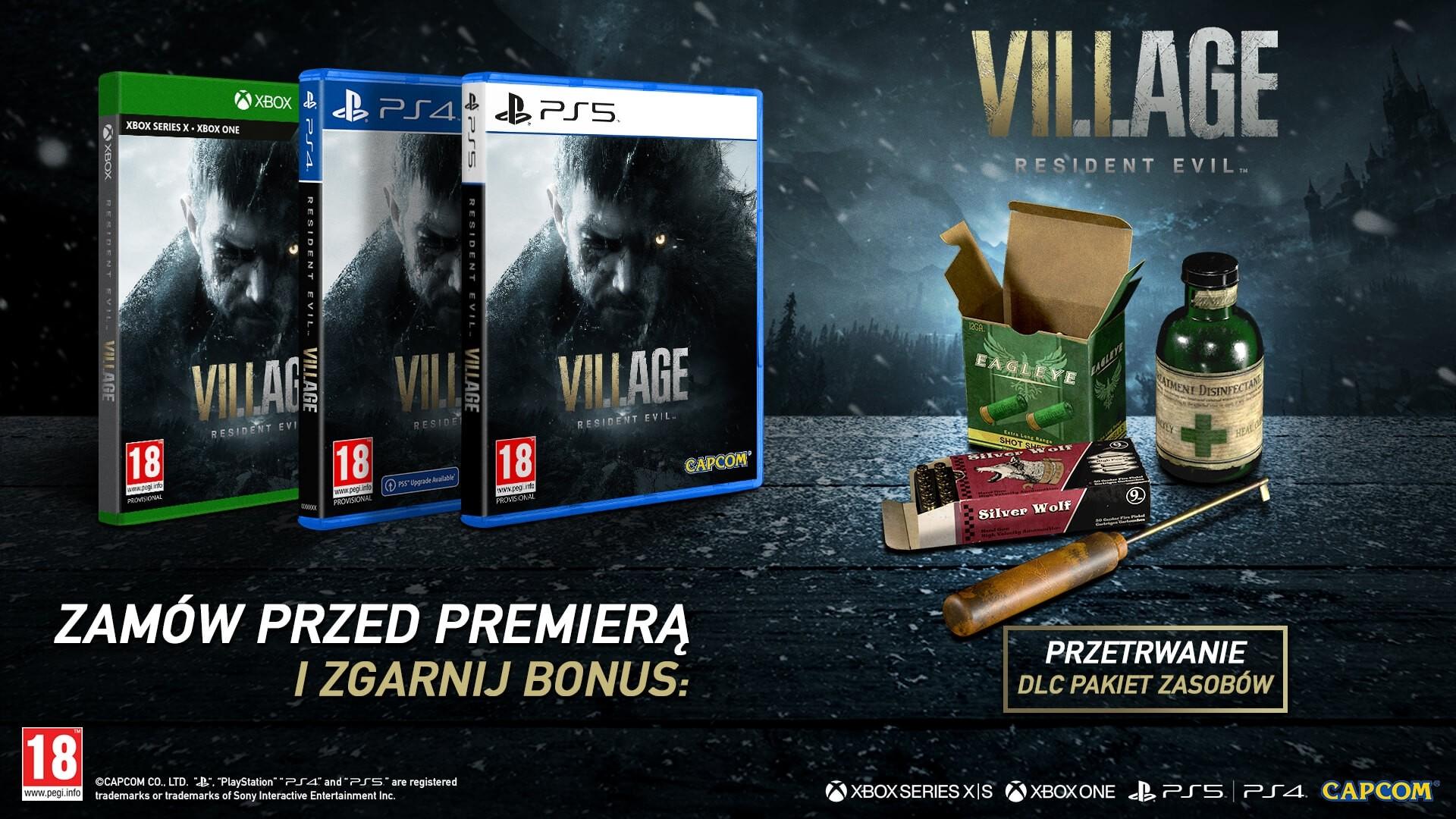 Resident Evil Village bonus przedpremierowy