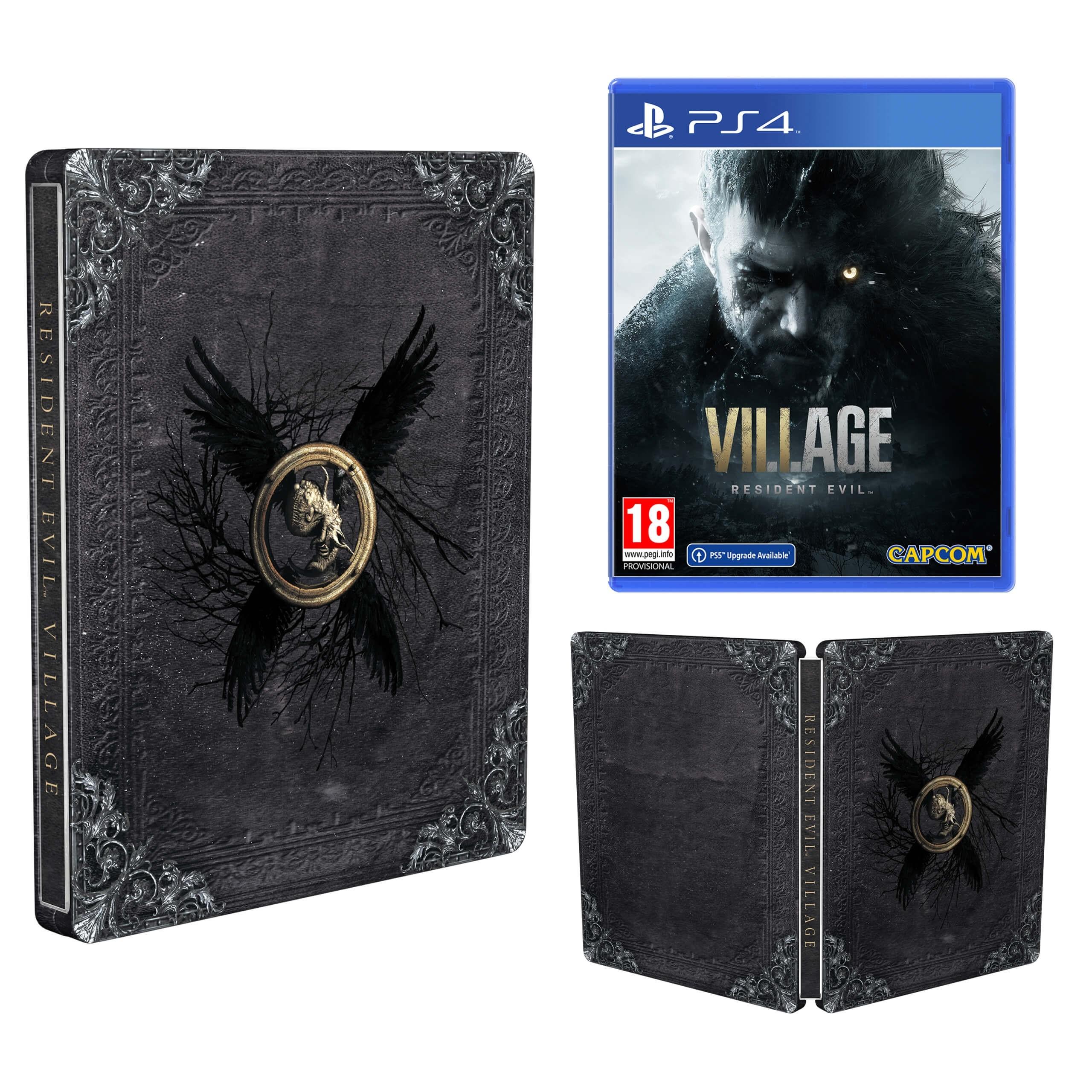 Resident Evil Village Steelbook bonus przedpremierowy