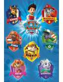 Psi Patrol Odznaki - plakat
