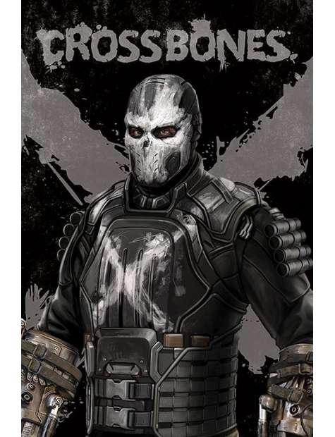Kapitan Ameryka Wojna Bohaterów Crossbones - plakat