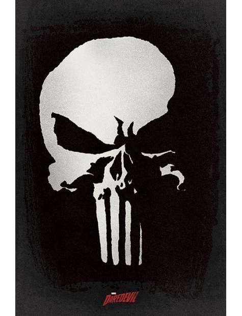 Daredevil Punisher - plakat