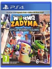 Worms Zadyma: Edycja Dużego Kalibru PS4-54202