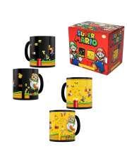 Kubek Super Mario Gold Coin Rush Heat Change-54391