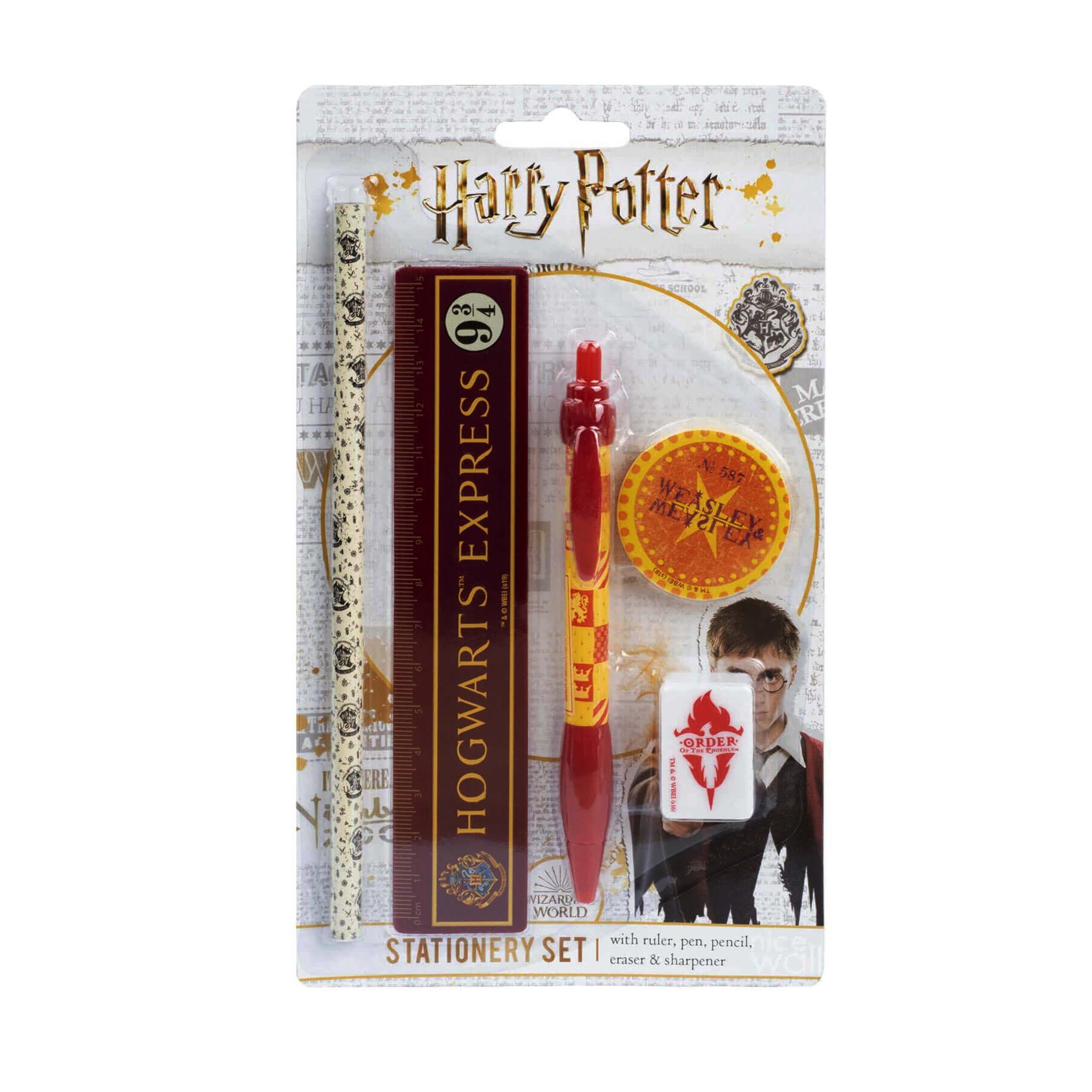 Zestaw Szkolny Harry Potter Hogwarts 5 w 1