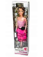 Lalka Glamorous Sariel Różowa Sukienka 29CM-54487