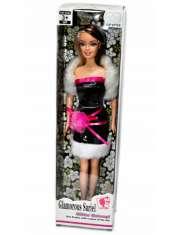 Lalka Glamorous Sariel Czarna Sukienka 29cm-54488