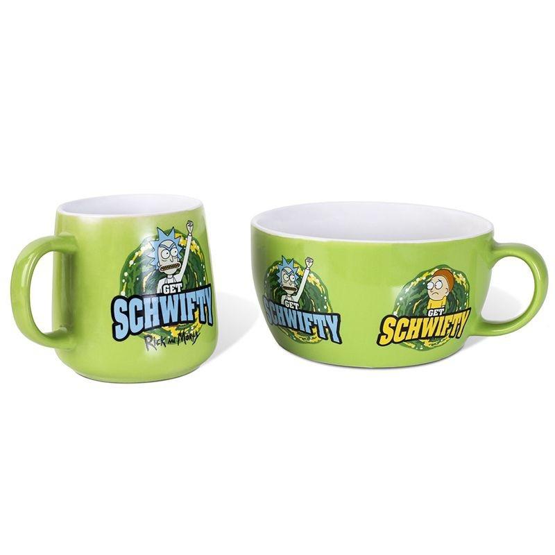 Zestaw Śniadaniowy Rick & Morty