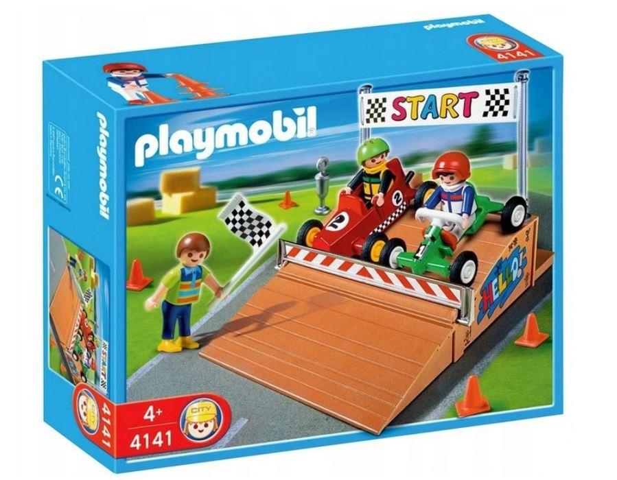 Klocki Playmobil Wyścigi Gokardów 4141