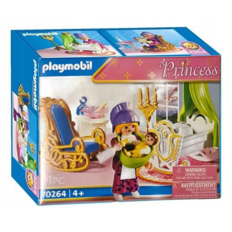 Klocki Playmobil Księżniczka z Kołyską 70264