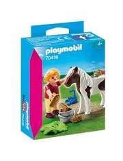Klocki Playmobil Dziewczynka z Kucykiem 70416-55314