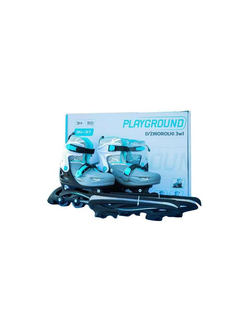 Łyżworolki regulowane Playground 34-37