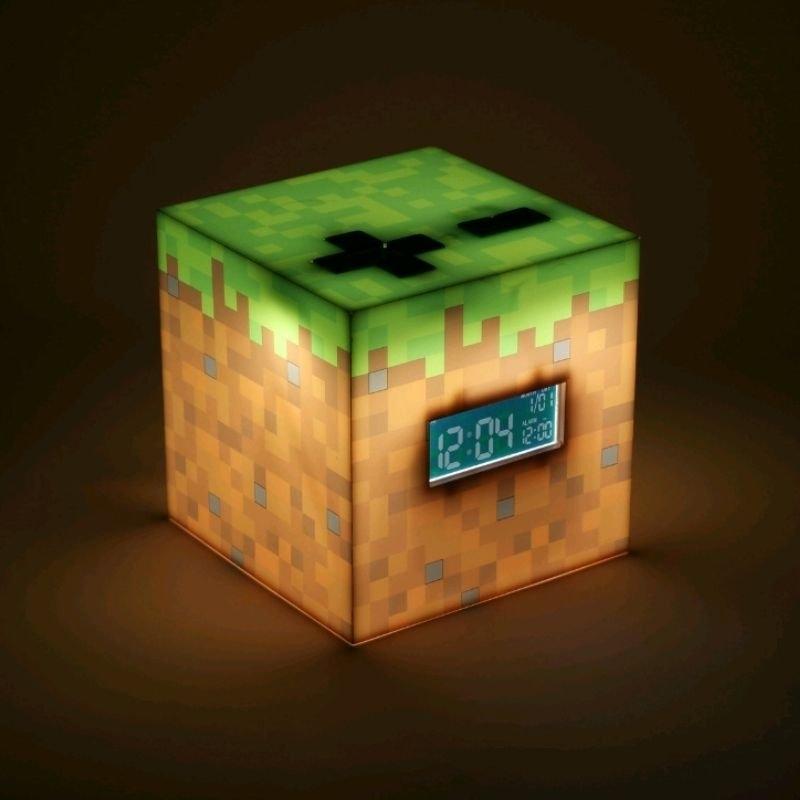 Budzik lampka Minecraft 3D