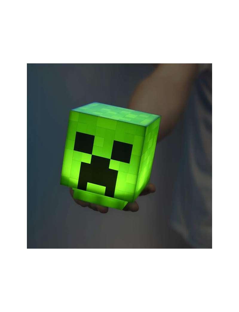 Lampka Minecraft Creeper Głowa