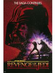 Star Wars Gwiezdne Wojny Revenge of the Jedi - plakat