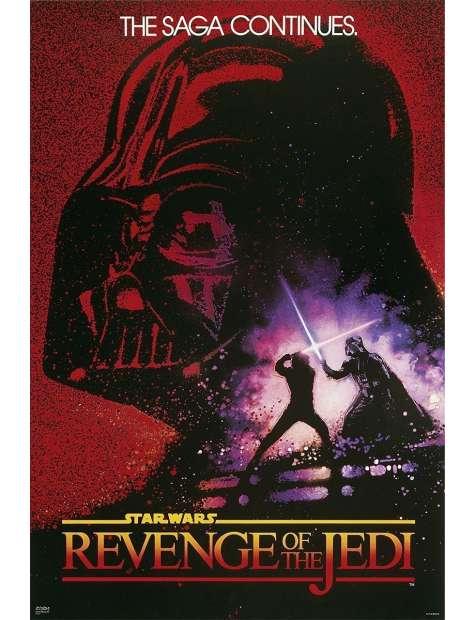 Star Wars Gwiezdne Wojny Revenge of the Jedi - plakat