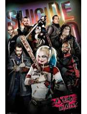 Legion Samobójców In Squad We Trust - plakat