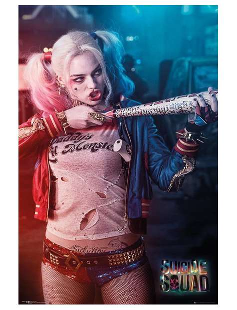 Legion Samobójców Harley Quinn - plakat