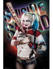 Legion Samobójców Harley Quinn Good Night - plakat