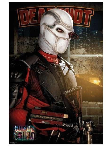 Legion Samobójców Deadshot - plakat