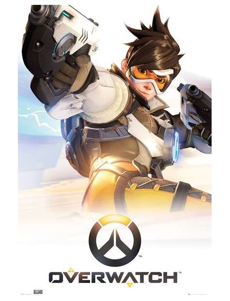 Overwatch Key Art - plakat