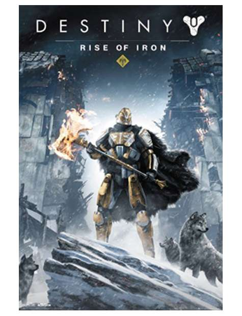 Destiny Rise Of Iron - plakat